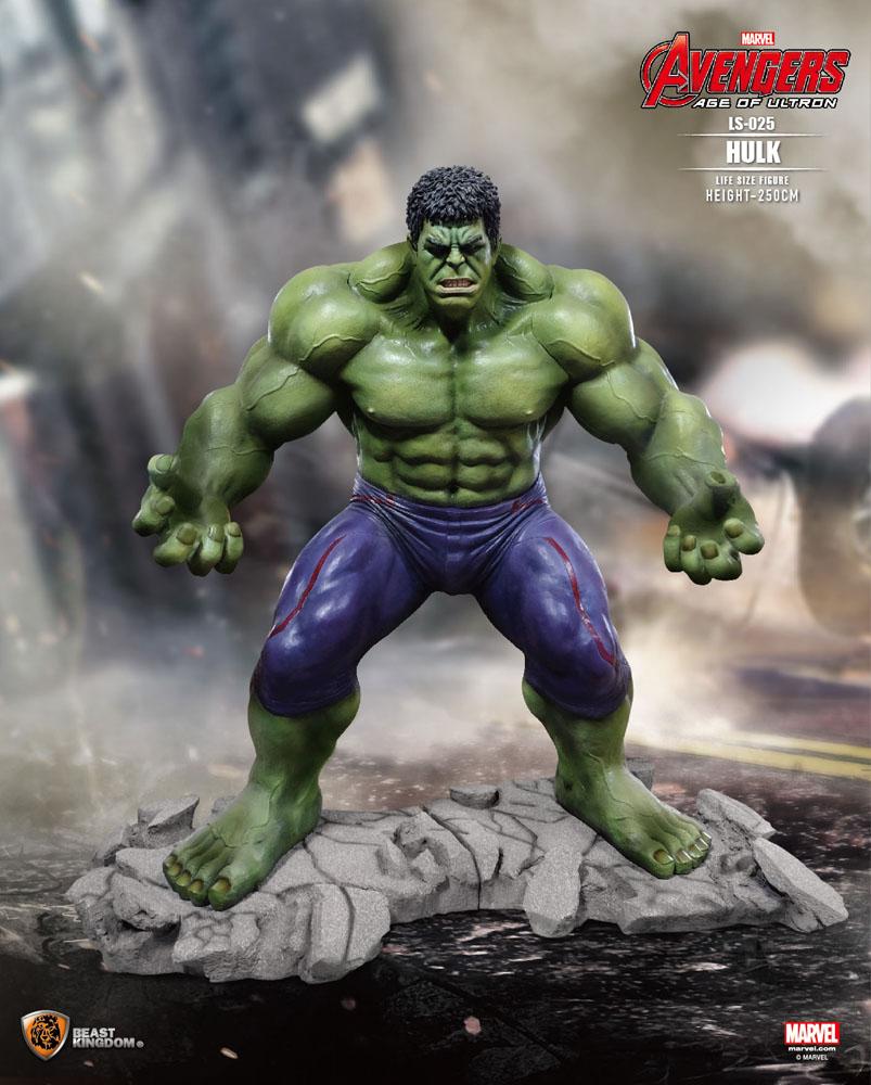 Avengers Age of Ultron Life-Size Statue Hulk 250 cm - Animegami Store