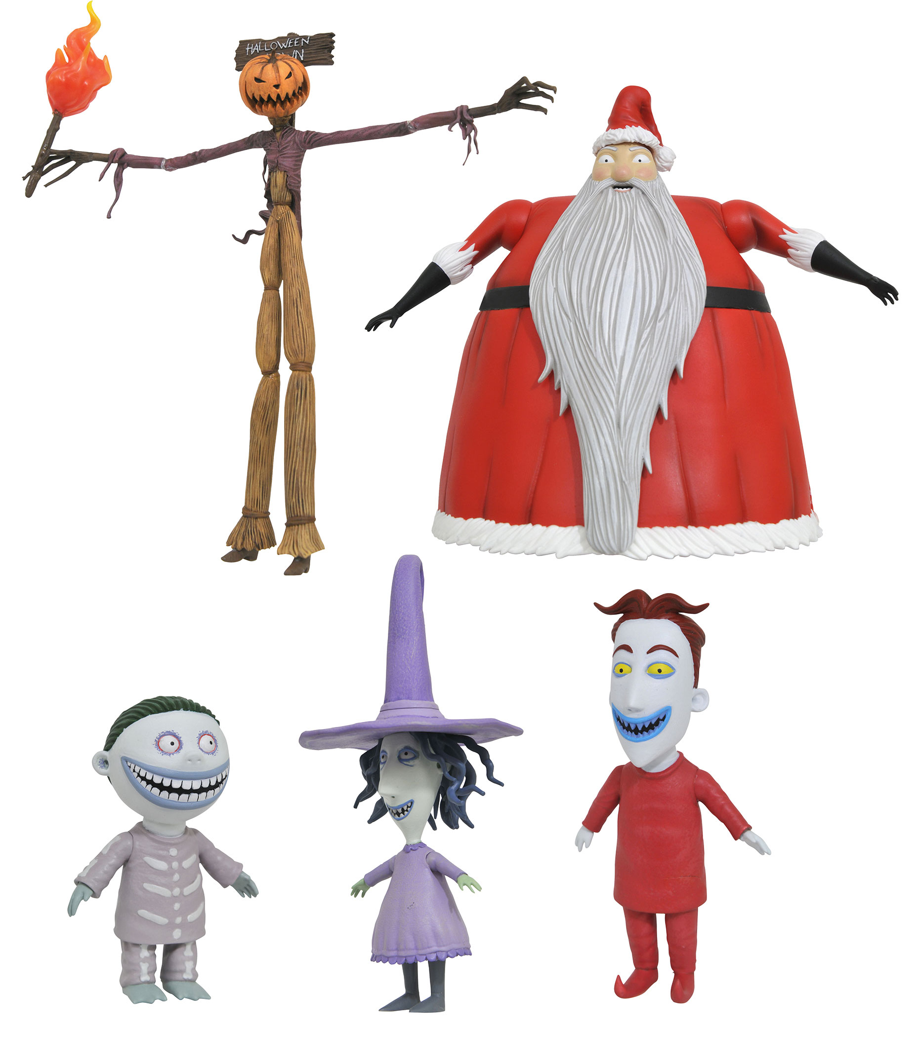 Nightmare before Christmas Select Action Figures 18 cm Series 3 ...