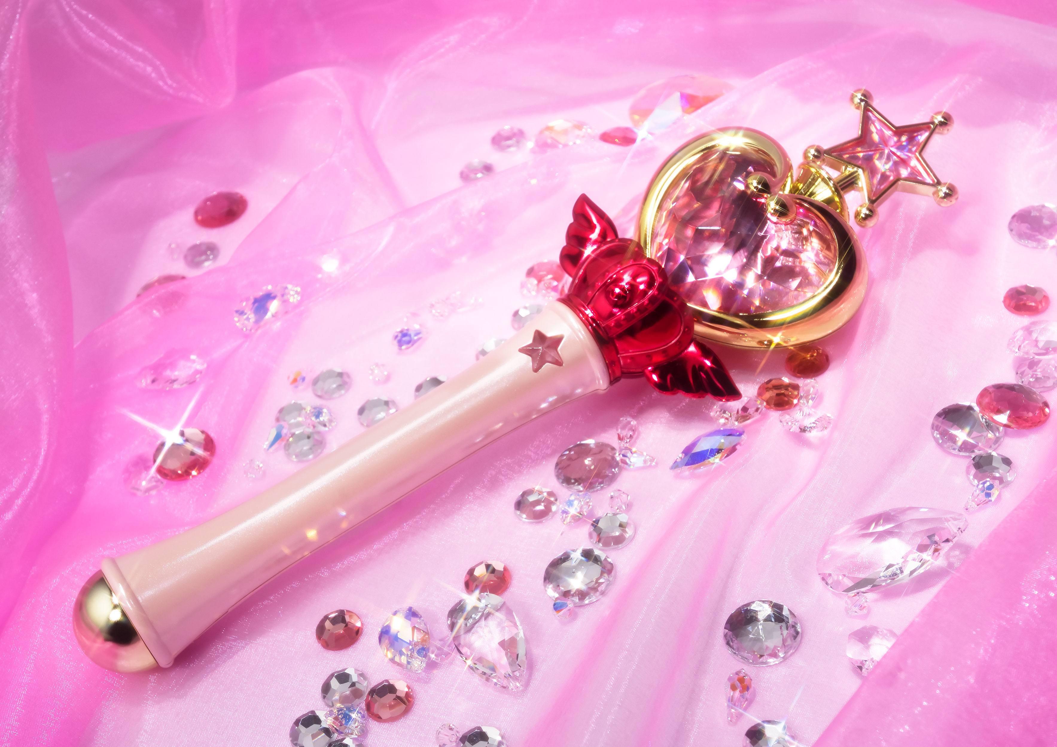Sailor Moon Proplica Prop Pink Moon Stick Bandai Tamashii Web Exclusive 27cm