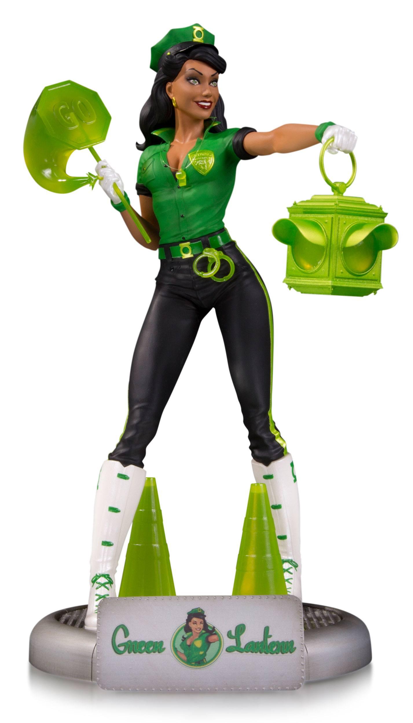 Dc Comics Bombshells Statue Green Lantern Jessica Cruz