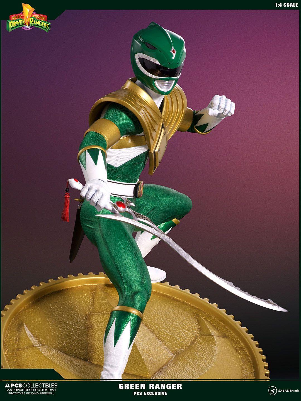 Power Rangers Statue 1/4 Green Ranger PCS Exclusive 58 cm - Animegami Store