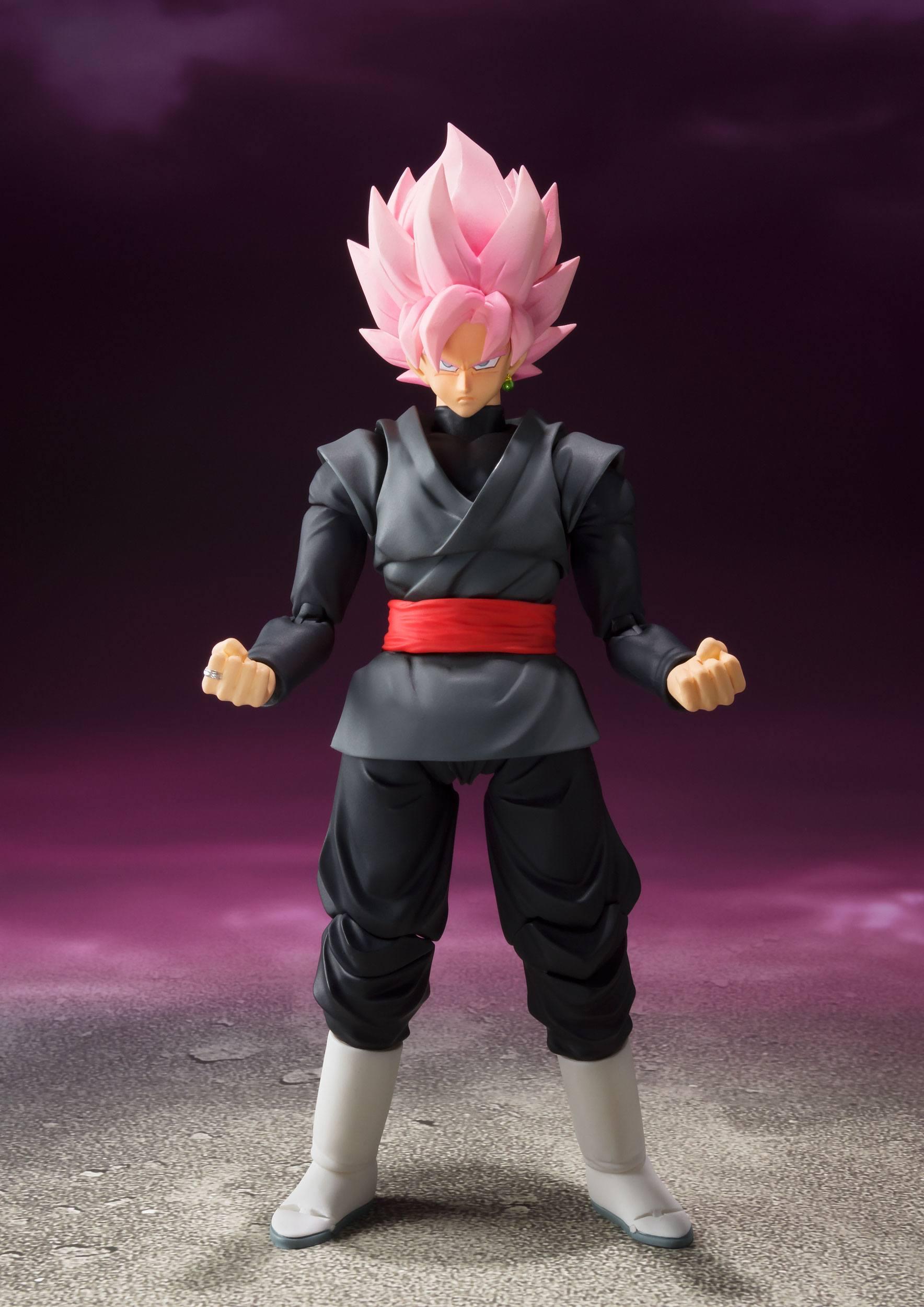 BANDAI S.H.Figuarts Goku Black Dragon Ball Super Figure