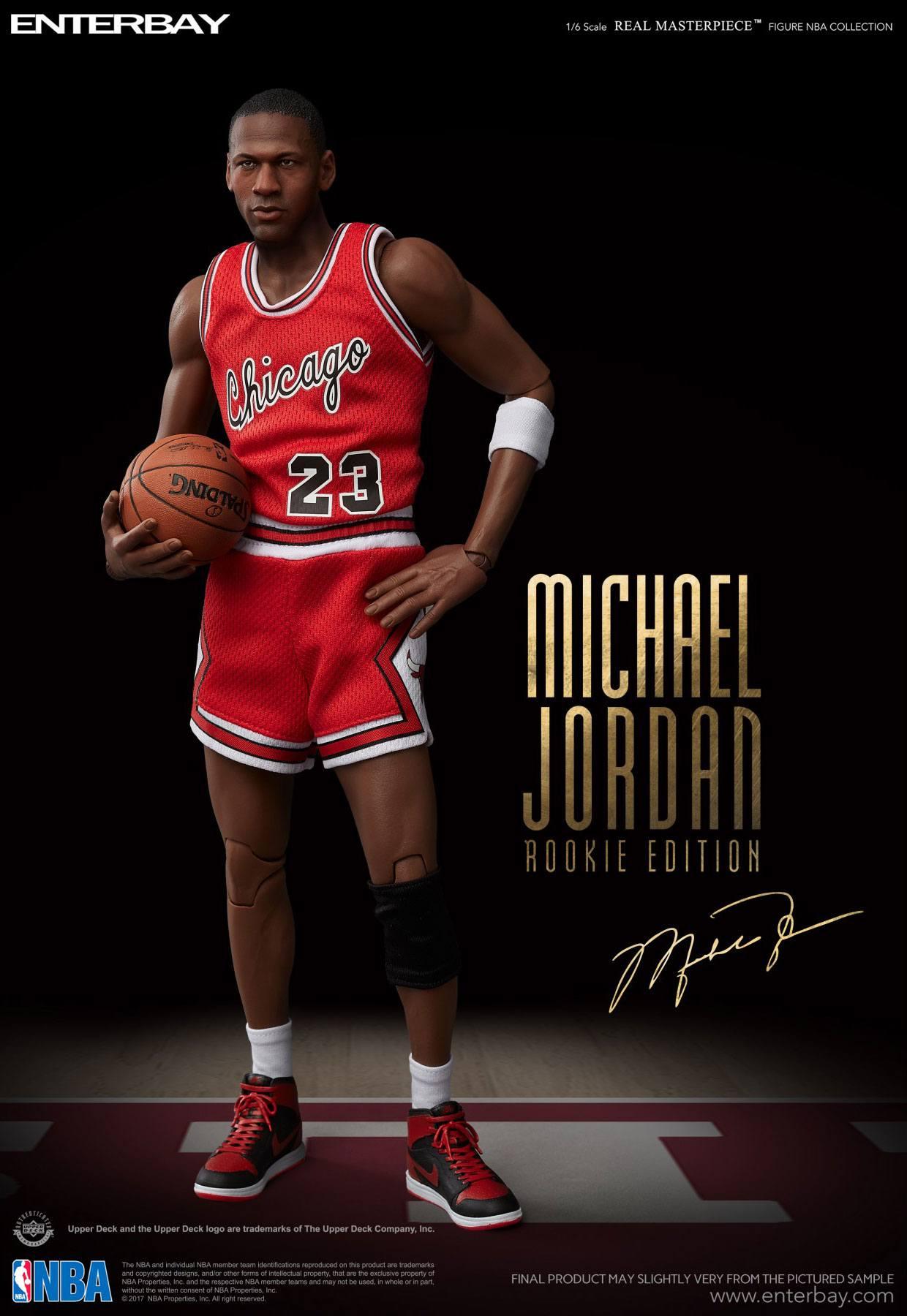 Home Shop Basketball. NBA Collection Real Masterpiece Actionfigur 1 6  Michael Jordan ... 27db7a69b