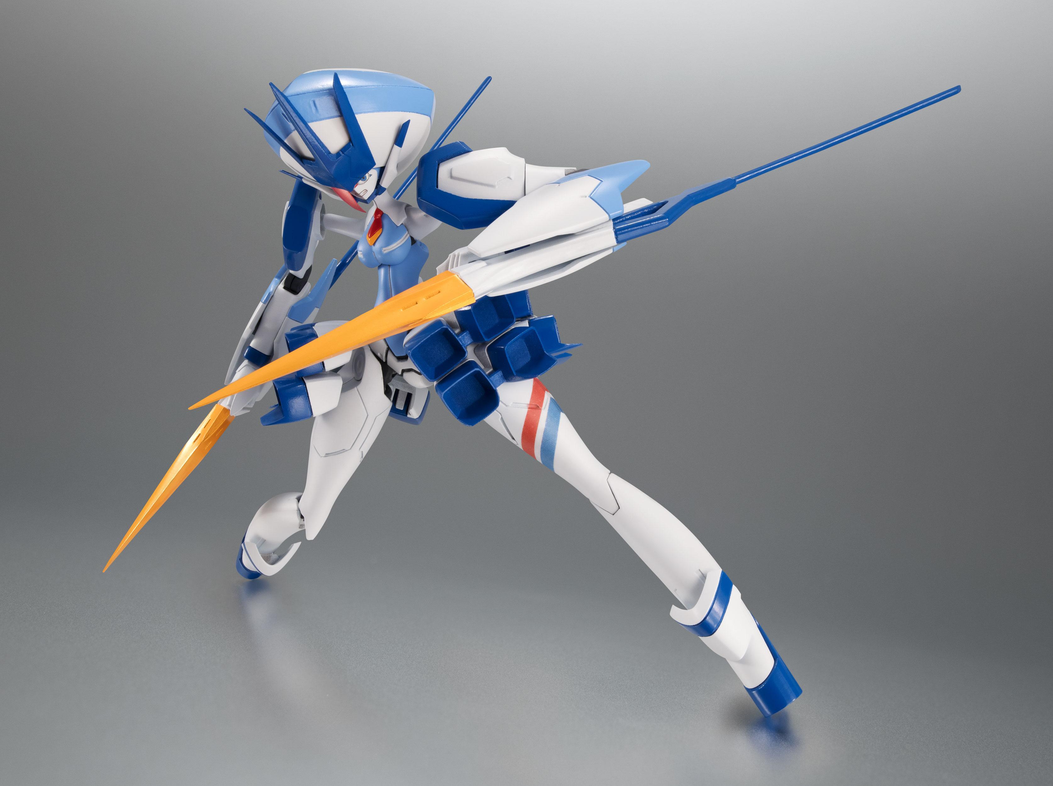 "In STOCK Bandai Robot Spirits Darling in the Franxx /""Delphinium/"" Action Figure"