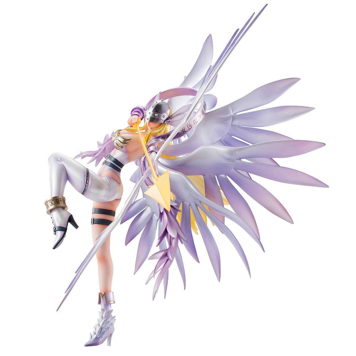 PVC Figure No box Anime GEM Series Digimon Adventure Angewomon Holy Arrow Ver