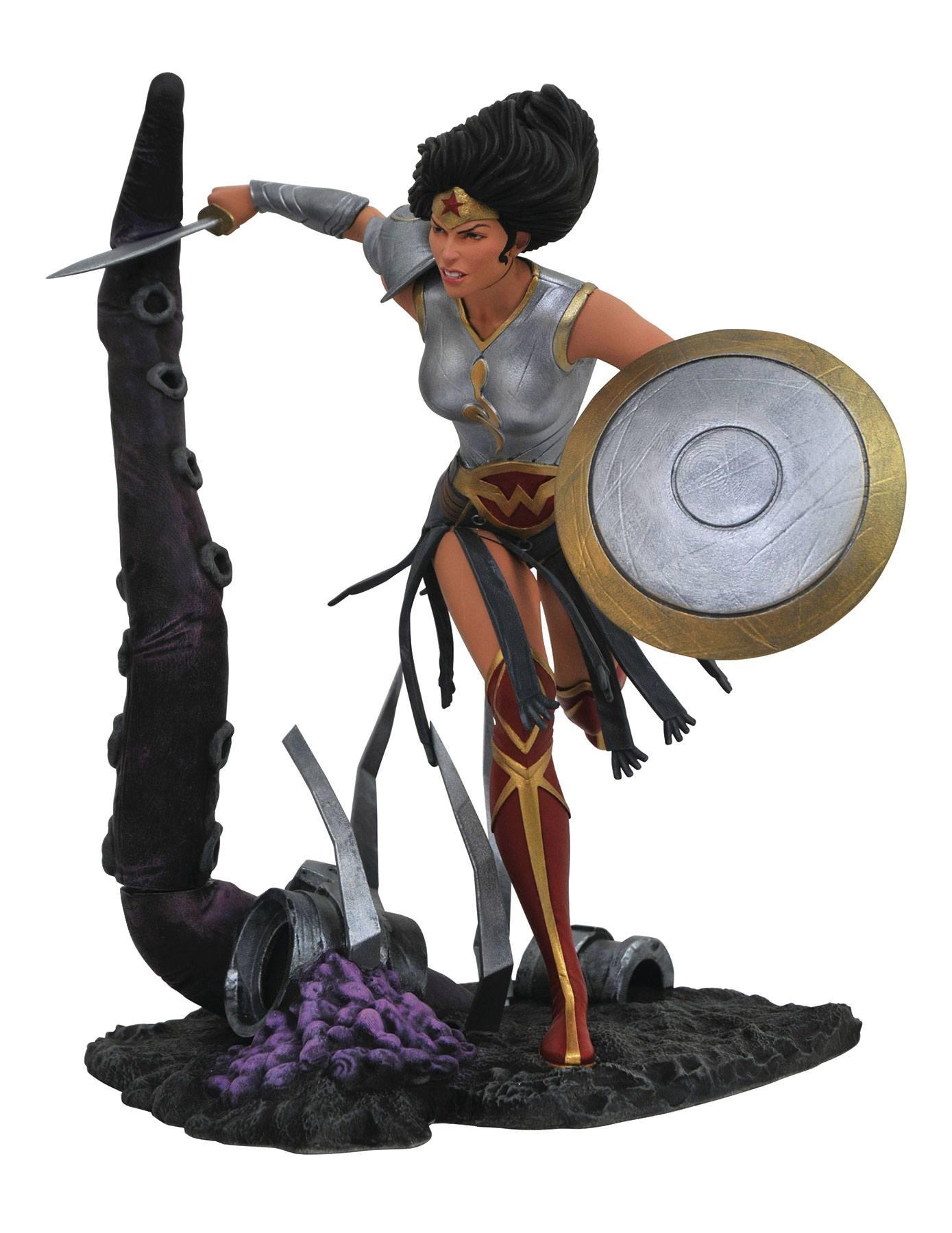 DC Comic Gallery statuette Dark Nights Metal Wonder Woman 23 cm