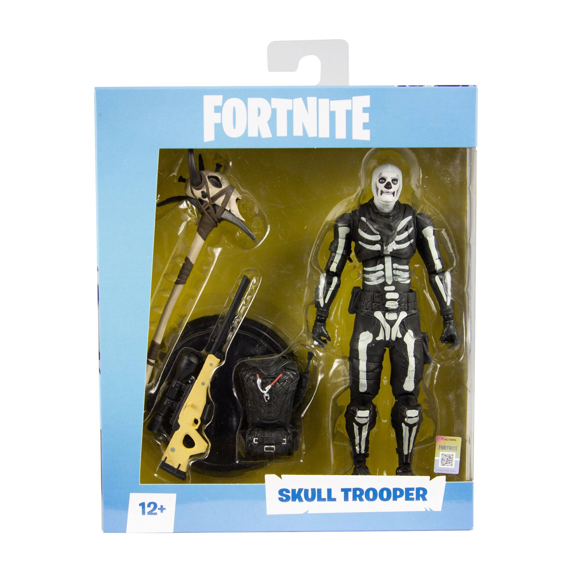fortnite action figure skull trooper 18 cm - fortnite store uk