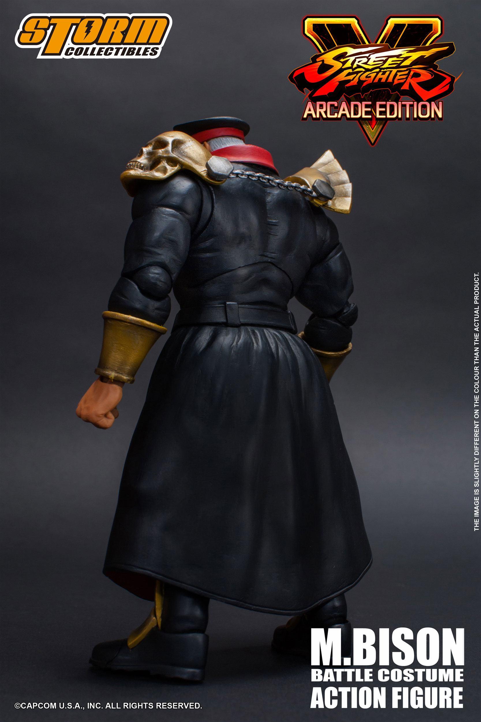 Street Fighter V Arcade Edition Action Figure 1 12 M Bison Battle
