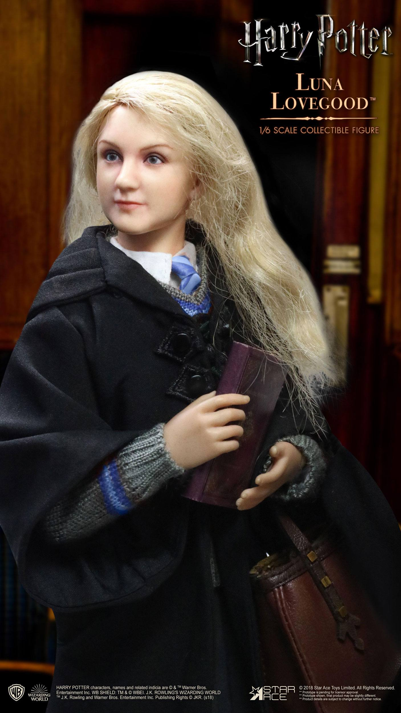 Star Ace Harry Potter My Favourite Movie 1//6 Luna Lovegood Action Figure 26 cm