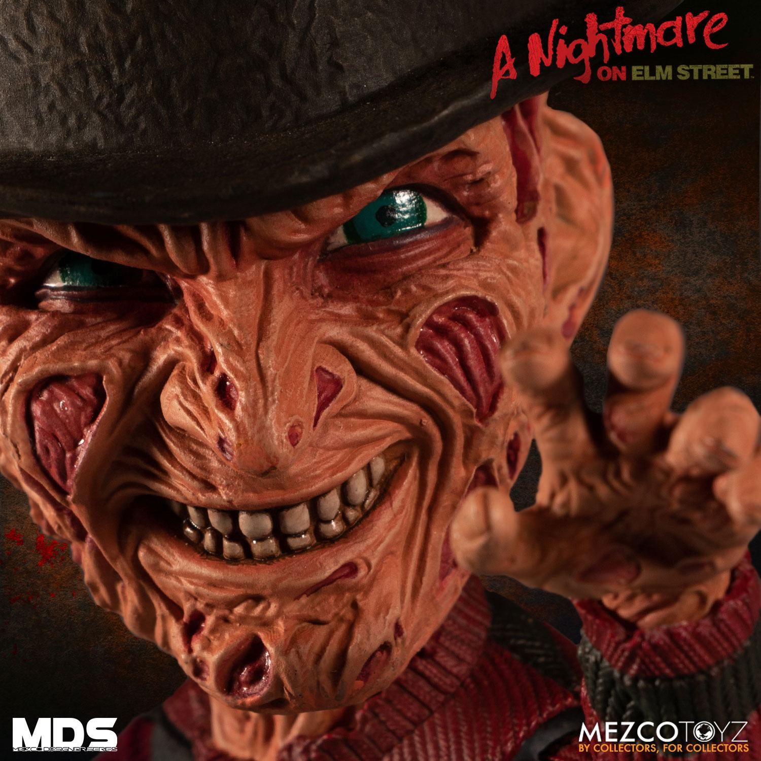 Nightmare on Elm Street 3 MDS Series Action Figure Freddy Krueger Mezco Toys