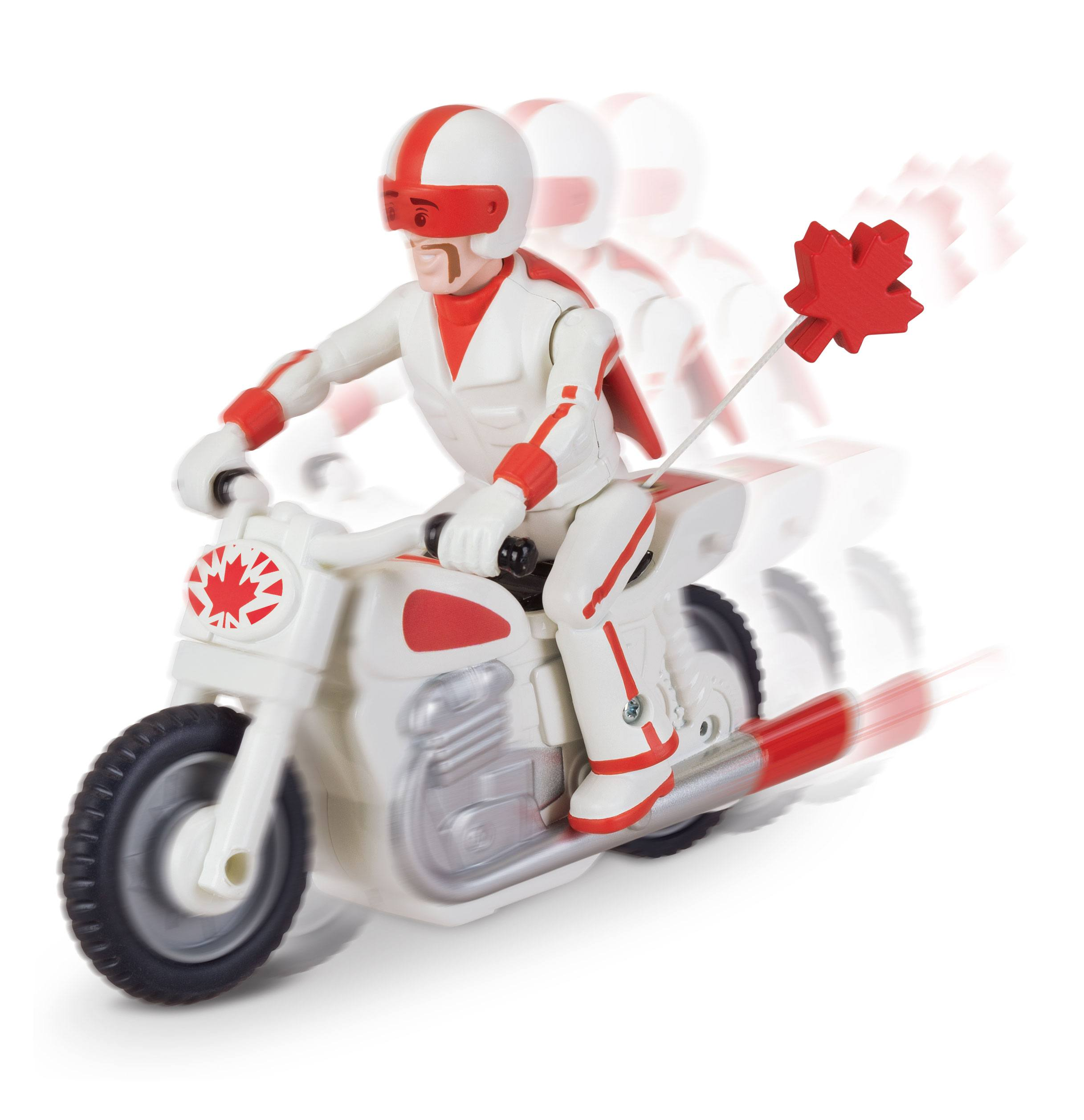 Toy Story 4 Pullback Figure Duke Caboom with Motorcycle 10 cm - Animegami  Store
