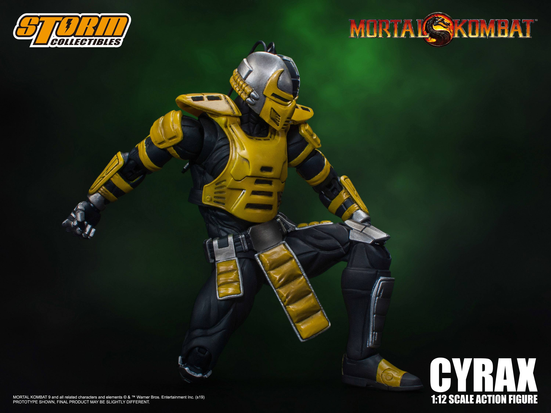 Mortal Kombat Action Figure 1/12 Cyrax 18 cm - Animegami Store