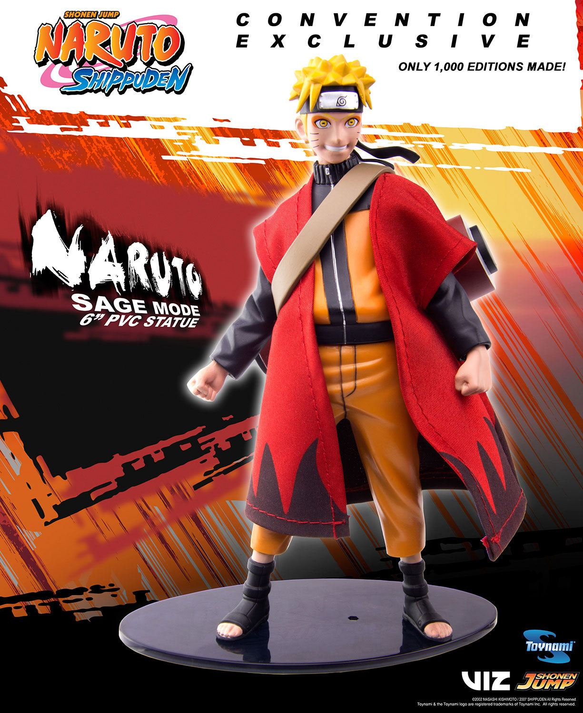 Naruto Shippuden PVC Statue Naruto Sage Mode 2018 SDCC Exclusive 15 cm -  Animegami Store
