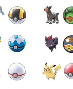 Pokémon Clip 'N' Go Pokéball Wave 6 Assortment (6)