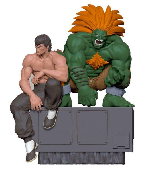 Street Fighter PVC Statues 1/8 Fei & Blanka