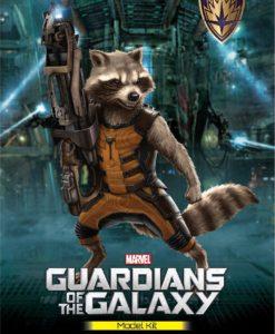 Guardians of the Galaxy Plastic Model Kit Rocket Raccoon 18 cm