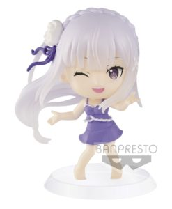 Re:Zero Starting Life in Another World ChiBi Kyun Figure Emilia 6 cm