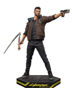 Cyberpunk 2077 PVC Statue Male V 24 cm