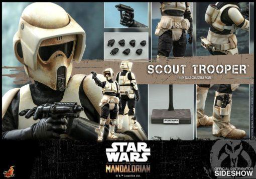 Star Wars The Mandalorian Action Figure 1/6 Scout Trooper 30 cm