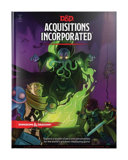 Dungeons & Dragons RPG Adventure Acquisitions Incorporated english