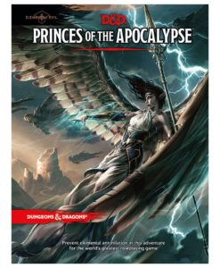 Dungeons & Dragons RPG Adventure Elemental Evil - Princes of the Apocalypse english