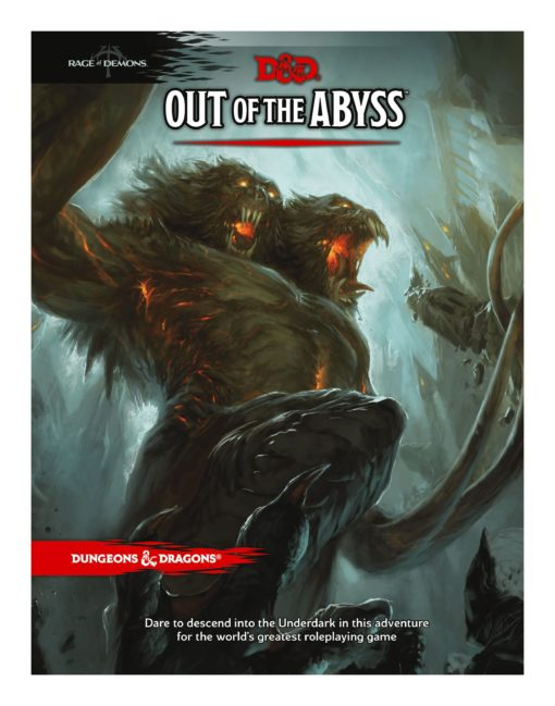 Dungeons & Dragons RPG Adventure Rage of Demons – Out of the Abyss english