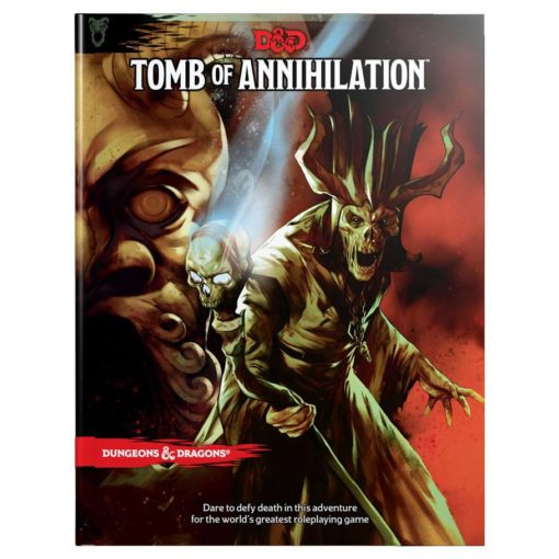 Dungeons & Dragons RPG Adventure Tomb of Annihilation english