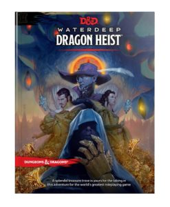 Dungeons & Dragons RPG Adventure Waterdeep: Dragon Heist english