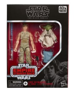 Star Wars Episode V Black Series Action Figure 2-Pack 2020 Luke Skywalker and Yoda (Jedi Training)