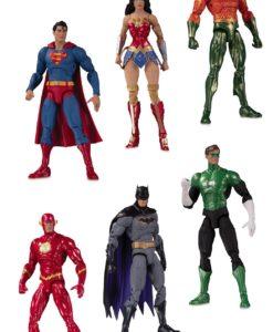 DC Essentials Action Figure 6-Pack Justice League 18 cm