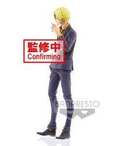 One Piece Grandista PVC Statue Sanji Manga Dimensions 27 cm