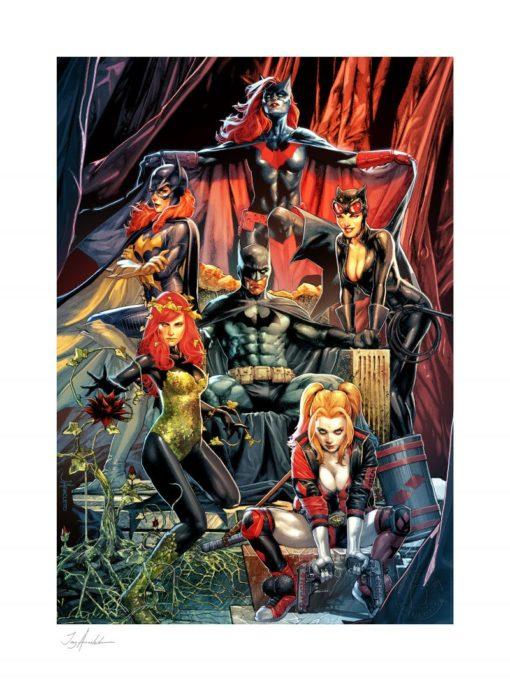 DC Comics Art Print Batman: Detective Comics #1000 46 x 61 cm – unframed