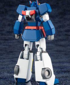 Brave Police J-Decker Plastic Model Kit Deckerd & Max Cannon 11 cm