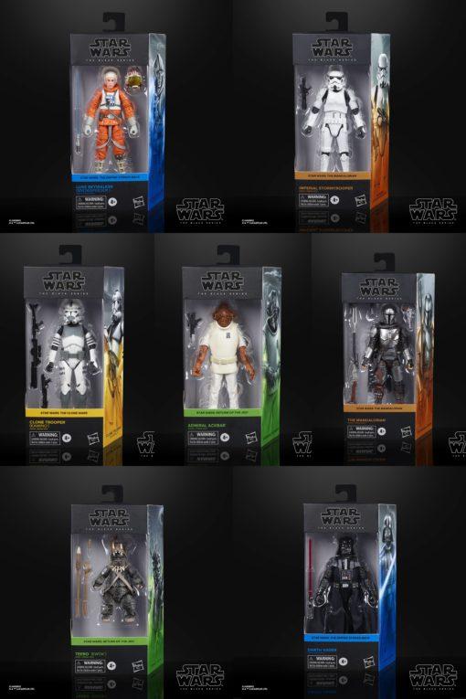 Star Wars Black Series Action Figures 15 cm 2020 Wave 3 Assortment (8)