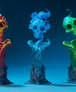 Court of the Dead Court Statue 3-Pack The Lighter Side of Darkness: Faction Candle 18 cm