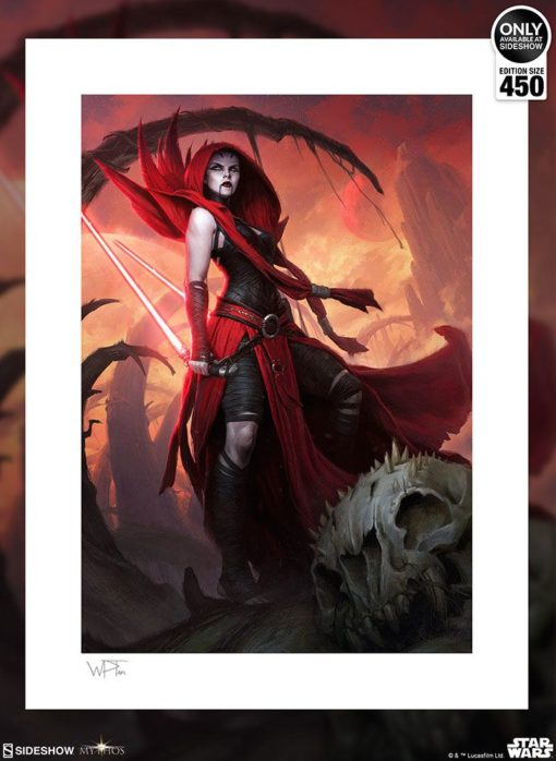 Star Wars Art Print Asajj Ventress: Ascension 46 x 61 cm – unframed