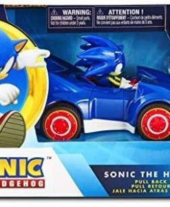 Sonic & All-Stars Racing Transformed Pullback Car Sonic 14 cm