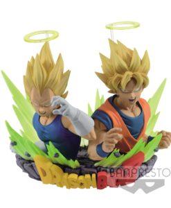 Dragonball Z Figuration Vol. 2 Bust SSJ Goku & Vegeta 7 cm
