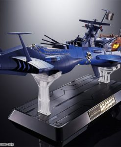Space Pirate Captain Harlock Soul of Chogokin Diecast Model GX-93 Battleship Arcadia 43 cm