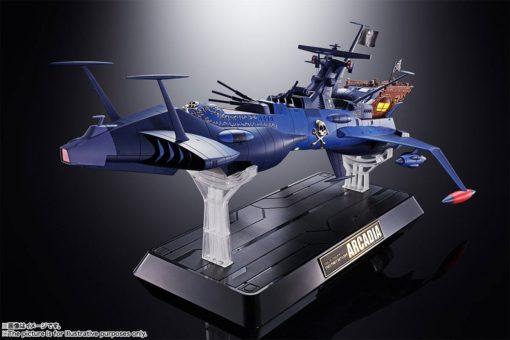 Space Pirate Captain Harlock Soul of Chogokin Diecast Model GX-93 Battleship Arcadia 43 cm