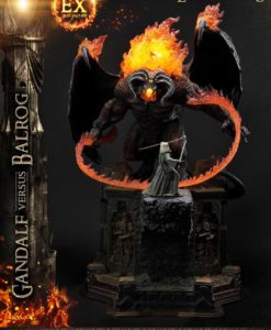 Lord of the Rings Statues Gandalf Vs. Balrog & Gandalf Vs. Balrog Exclusive 79 cm Assortment (3)