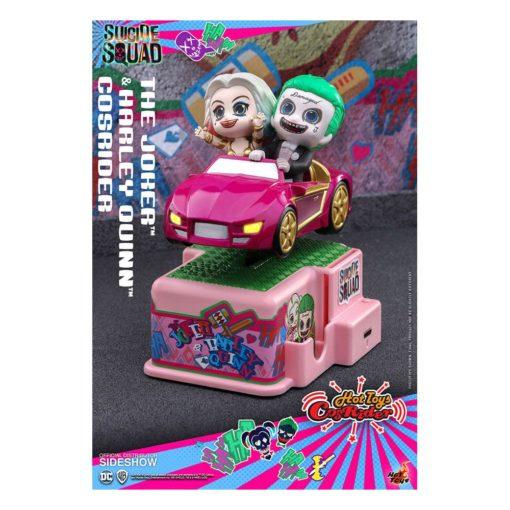 Suicide Squad CosRider Mini Figure with Sound & Light Up The Joker & Harley Quinn 13 cm