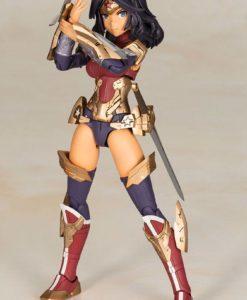 DC Comics Cross Frame Girl Plastic Model Kit Wonder Woman Fumikane Shimada Ver. 16 cm