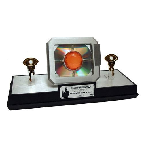 James Bond Replica 1/1 GoldenEye Lens & Keys Limited Edition