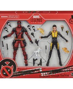Deadpool Marvel Legends Action Figure 2-Pack 2020 Deadpool & Negasonic Teenage Warhead 15 cm