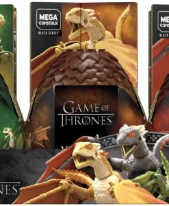 Game of Thrones Mega Construx Black Series Construction Sets Dragon Eggs Display (6)