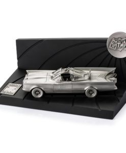 Batman 1966 Pewter Collectible Statue Batman 80th Classic Batmobile Limited Edition 19 cm