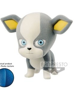 JoJo's Bizarre Adventure Fluffy Puffy Mini Figure Iggy Ver. B 6 cm