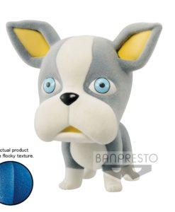 JoJo's Bizarre Adventure Fluffy Puffy Mini Figure Iggy Ver. A 6 cm