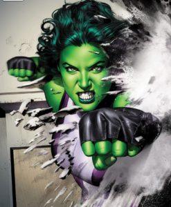 Marvel Art Print She-Hulk 46 x 61 cm - unframed